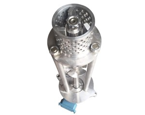 mesh hole homogenizer head