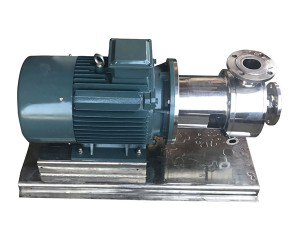 Kos-270 Inline Shear Mixer 7.5KW 380V Homogenizing Pumps for Daily Chemicals