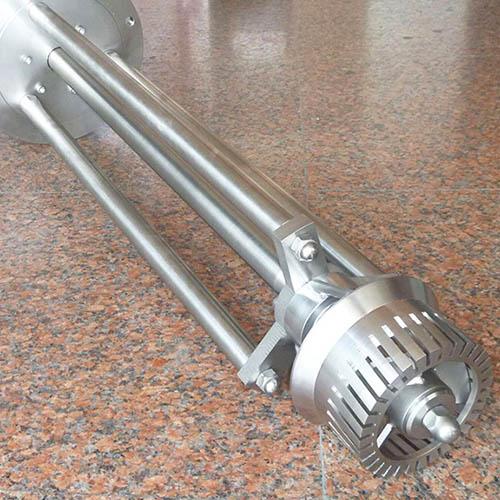 industrial homogenizer mixer detail