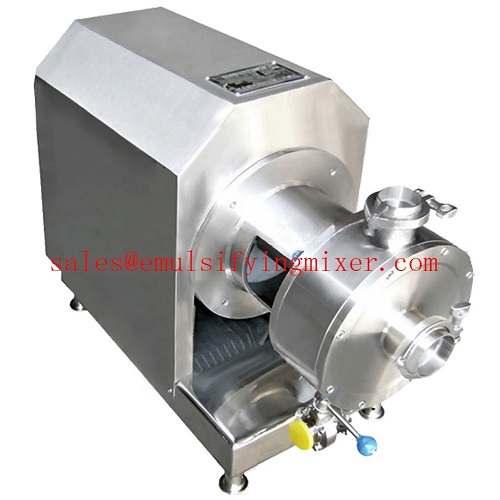 emulsifying pump with protective cover