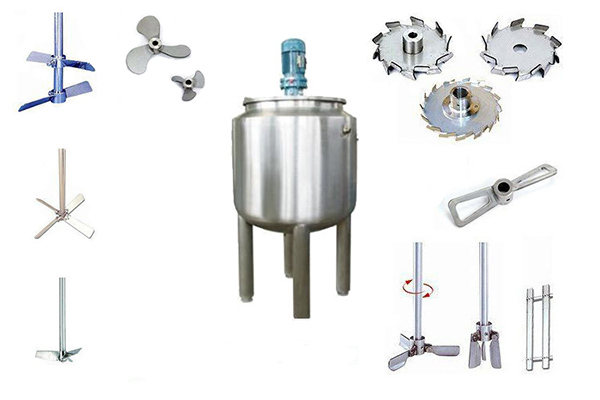 stirrers and mixing tank