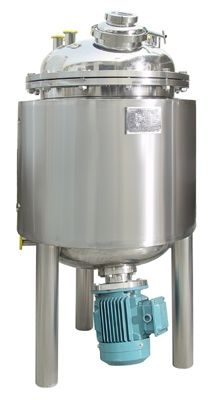 high shear homogenizer under tank