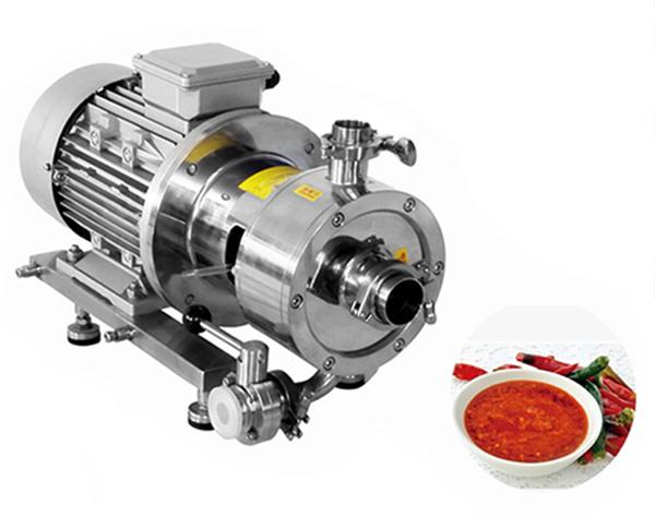 chili sauce emulsifying pump