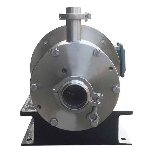 kos homogenizing pump inlet
