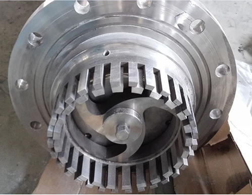 bottom entry mixer rotor stator