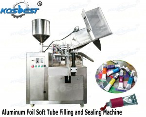 Aluminum Foil Soft Tube Filling and Sealing Machine