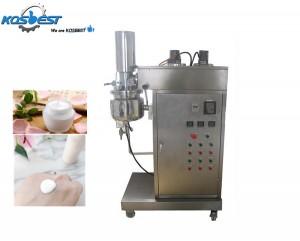 Lab vacuum homogenizer