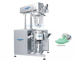 recirculation emulsifying mixer machine