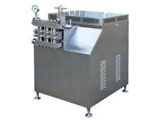 High Pressure Homogenizer 15KW for Milk Homogenizer / Ice Cream Homogenizer