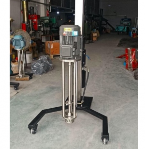 high shear mixer with electric lifting device