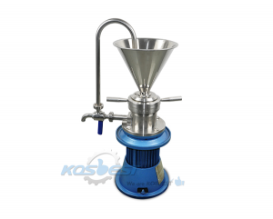 KSL-50 Vertical Colloid Mill Machine with Stainless Steel Contact part for High Shear Mixer and Grinding