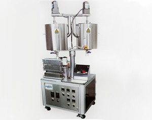 Newly Improved Automated 12 Cavity Lipstick Lip Gloss Filling Machine