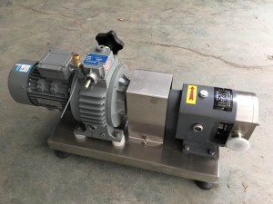 KS-6 0.75kw Lobe Pump food grade/Rotor Pump high viscosity transfer