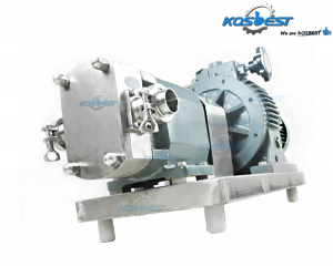 KS-8 Rotary Lobe Pump with Stainless Steel and Three-Lobed Rotor Transfer Pump