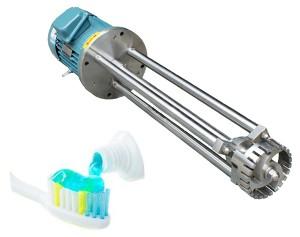 toothpaste industrial homogenizer mixer