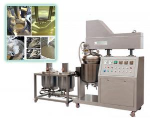 100L cosmetics cream vacuum emulsifer mixer machine