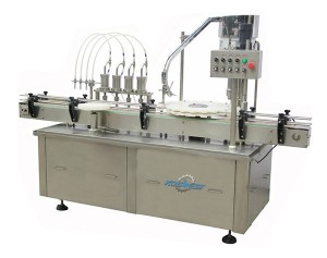 Automatic 50ml Cosmetic Cream Filling Machine for Cap Screwing