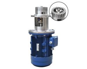 Custom Bottom Type Homogenizer Mixer, Bottom Entry Emulsifying Machine