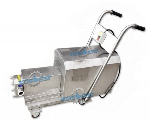 Sanitary Rotor Pump for ointment transport