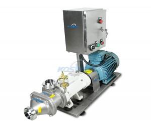 Kos-02SLX Twin screw pump transfer pump for Chocolate, cheese, honey