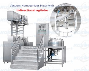 Bidirectional Agitator Mixing Equipment