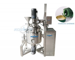 Toothpaste Emulsifying Ointment Mixing Tank Equipment Sealling Tank Ingredients Tank