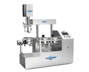 Lab vacuum emulsifying mxier