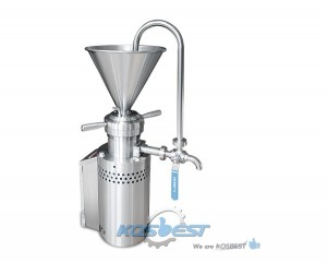 Kos-JM04 Food Grade Vertical Colloid Mill Wet Utra-fine Particle Pulverization Liquid Sauce Grinding