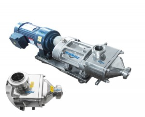 Double screw  transfer pump