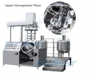Kos-SJ01 Upper Homogenizer Mixer Machine Cosmetic High shear Mixer Cosmetic Homogenizing Equipment