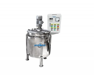 KOSBEST Chemical Liquid Heating Homogenizing Mixing Tank Emulsifying Mixer Equipment