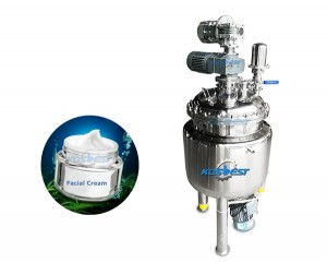 cosmetic emulsifying mixing tank