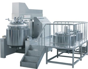 500L Vacuum Emulsifying Machine for Food, Cosmetic and Chemical