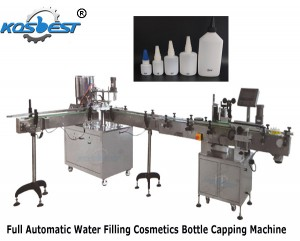 Full Automatic Water Filling Bottle Capping Machine