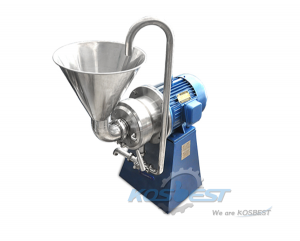 KSW-80 Horizontal Colloid Mill Machine for Peanut Butter Making Machine