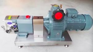 lobe pump rotor pump
