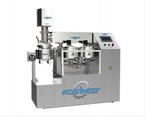 10L Batch Vacuum Emulsifying Mixer Unit for Cosmetics Laboratory