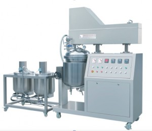50L Batch Vacuum Emulsifying Mixer Unit for Cosmetic lab