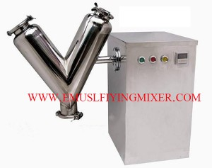 Free Shipping Mini VH-10 Dry Powder Mixing Machine for Pill Tablet Press, Quality V Shape Mixer