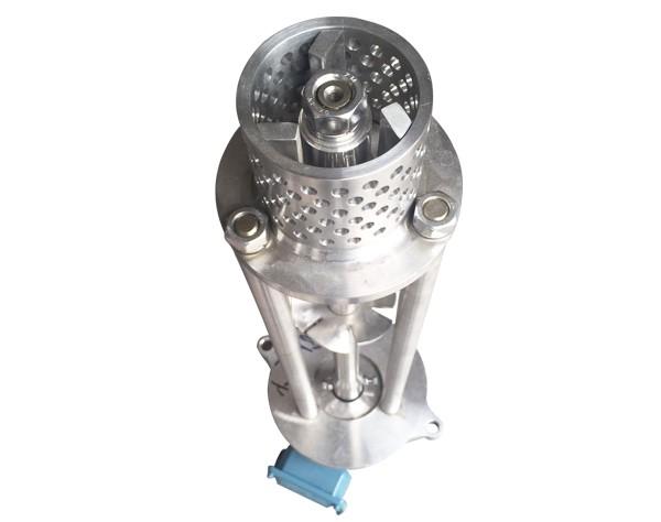 mesh hole homogenizer head
