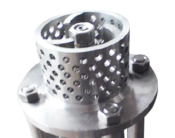 mesh type emulsifying head