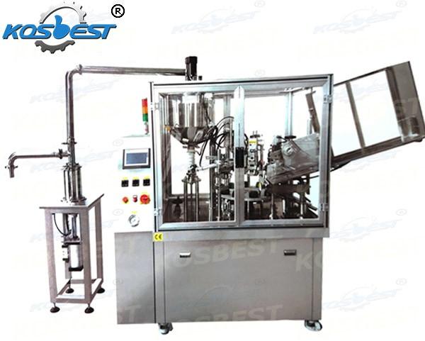 Automatic Soft Paste Aluminum Tube Filling Machine