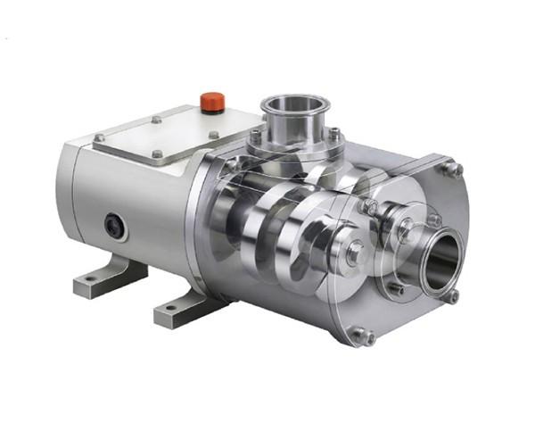 double screw pump structure