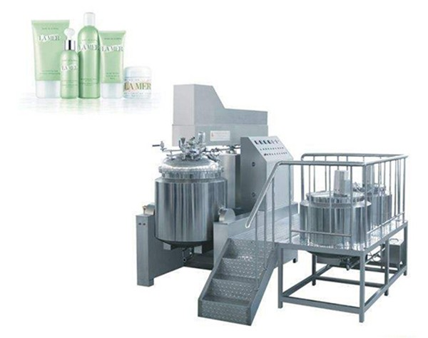 emulsion cream vacuum mixer homogenizer