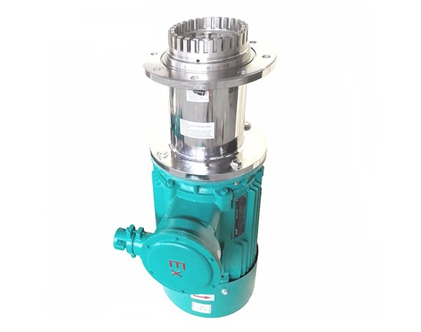 explosion proof bottom entry mixer