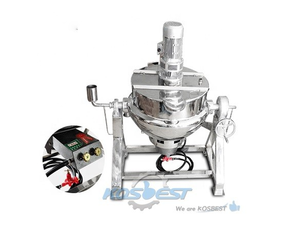 restaurant cooking use jacket kettle