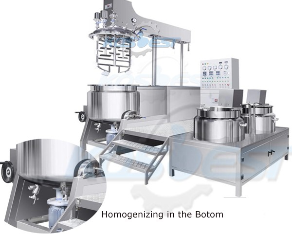 Cream Homogenizing Mixer Equipment
