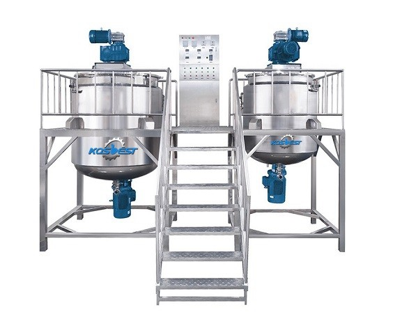 detergent production line liquid washing homogenizing mixer