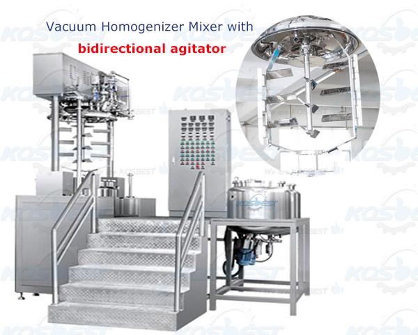 Bidirectional Agitator Mixing Equipment