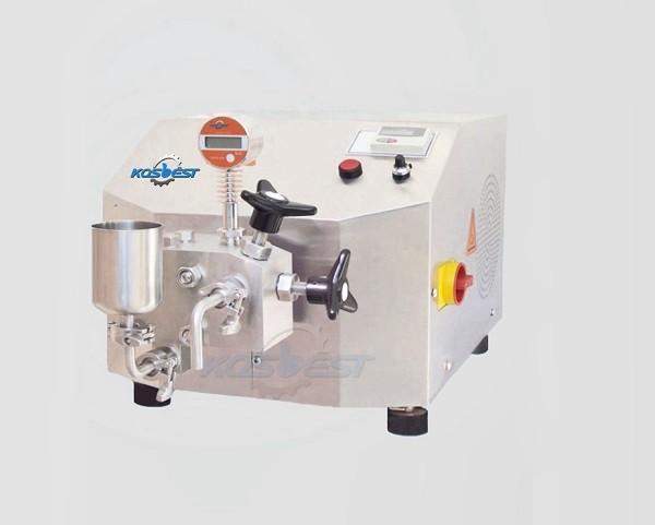 High pressure homogenzier for milk emulsion